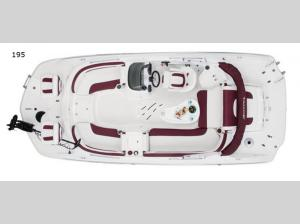 Deck Boats 195 Floorplan Image