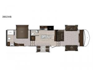 Sanibel 3802WB Floorplan Image