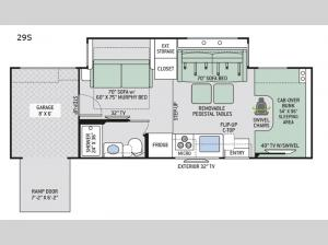 Outlaw 29S Floorplan Image