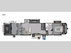 Raptor 423 Floorplan Image