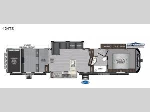 Raptor 424TS Floorplan Image