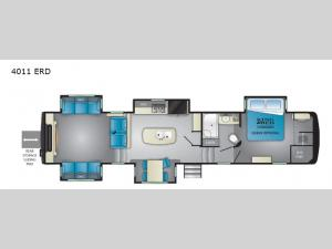 Big Country 4011 ERD Floorplan Image