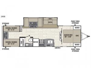 Freedom Express Select 29SE Floorplan Image