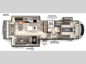 Impression 280RL Floorplan Image