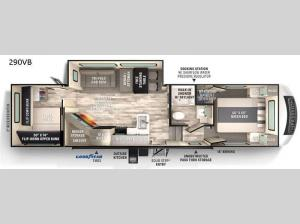 Impression 290VB Floorplan Image