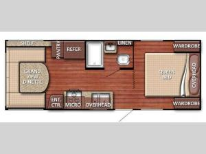 Conquest 20QBG SE Series Floorplan Image