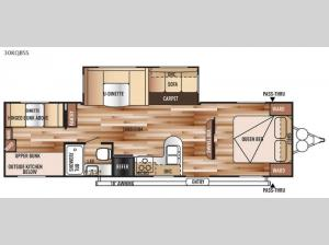 Salem 30KQBSS Floorplan Image