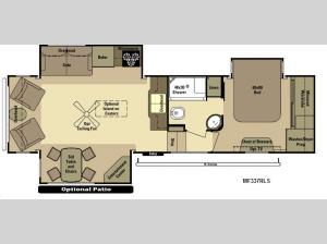 Mesa Ridge MF337RLS Floorplan Image