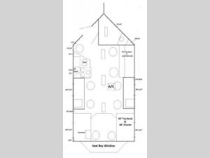 Ice Castle Fish Houses Lake of the Woods Floorplan Image