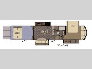 Elevation Sonoma Floorplan Image