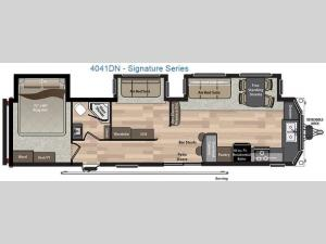 Residence Signature Series 4041 Floorplan Image