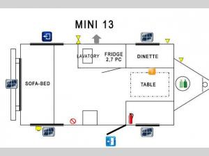 Prolite Mini 13 Floorplan Image