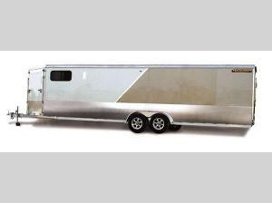 Enclosed Snowmobile Trailers AE724TAV Floorplan Image
