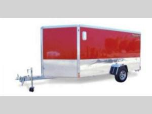 Enclosed Trailers Single Axle AE712 Floorplan Image