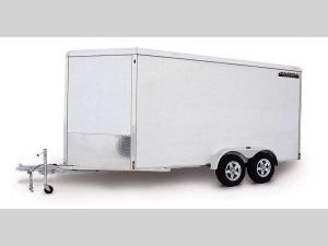 Enclosed Trailers Tandem Axle AE718TA Floorplan Image