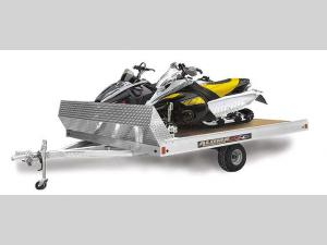 Snowmobile Trailers 8612T Floorplan Image