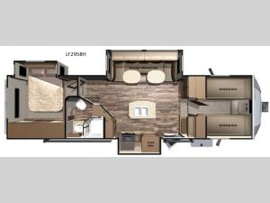 Open Range Light LF295BH Floorplan Image