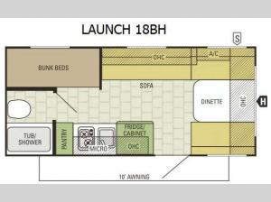 Launch 18BH Floorplan Image
