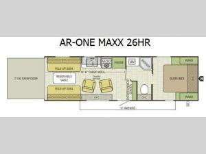 AR-ONE MAXX 26HR Floorplan Image