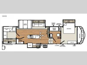 Sierra Select 30IOK Floorplan Image