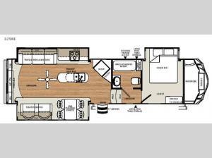 Sierra Select 329RE Floorplan Image