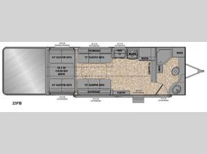 Reactor 23FB Floorplan Image