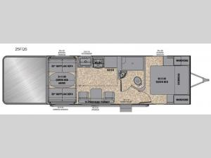 Reactor 25FQS Floorplan Image