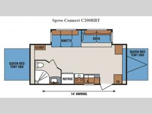 Spree Connect C200RBT Floorplan Image