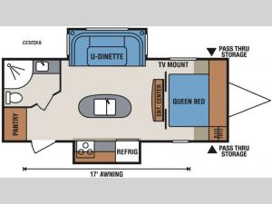 Spree Connect C232IKS Floorplan Image