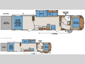 Sportsmen Sportster 365TH12 Floorplan Image