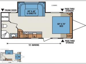 Spree Escape E200RBS Floorplan Image