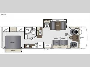 Georgetown 310DS Floorplan Image