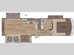 Sabre Lite 29RE Floorplan Image