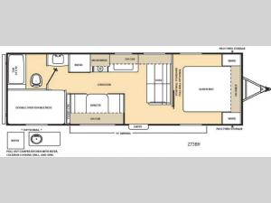 Catalina 273BH Floorplan Image