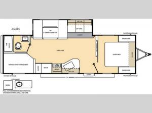 Catalina 273DBS Floorplan Image