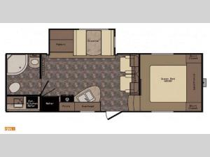 Sunset Trail Grand Reserve SF22RB Floorplan Image
