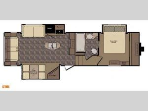 Sunset Trail Grand Reserve SF29RL Floorplan Image