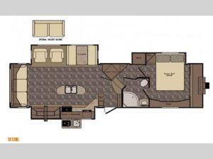 Sunset Trail Grand Reserve SF33RL Floorplan Image