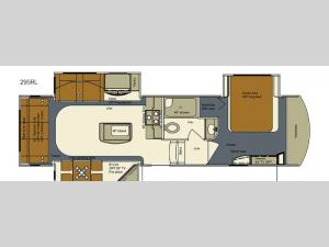 Bay Hill 295RL Floorplan Image
