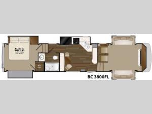 Big Country 3800 FL Floorplan Image