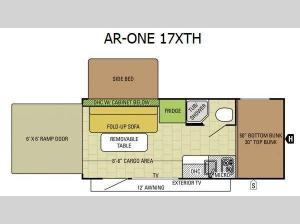 AR-ONE 17XTH Floorplan Image