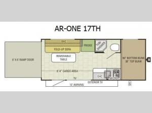 AR-ONE 17TH Floorplan Image