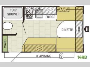 AR-ONE 14RB Floorplan Image