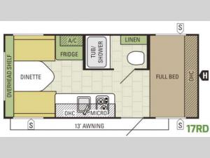 AR-ONE 17RD Floorplan Image