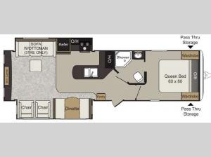 Passport 31RE Elite Floorplan Image