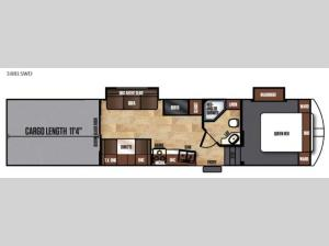Work and Play 38RLSWD Floorplan Image