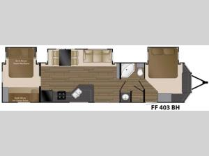 Fairfield 403BH Floorplan Image