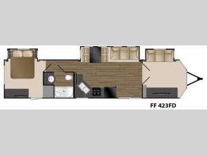 Fairfield 423FD Floorplan Image