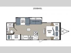 Kodiak Express 255BHSL Floorplan Image
