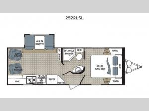 Kodiak Ultimate 252RLSL Floorplan Image